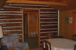 The Cookhouse Cabin interior
